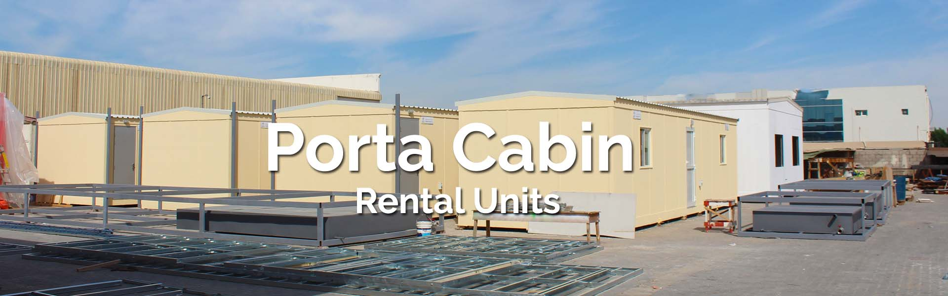 porta cabin rental in uae