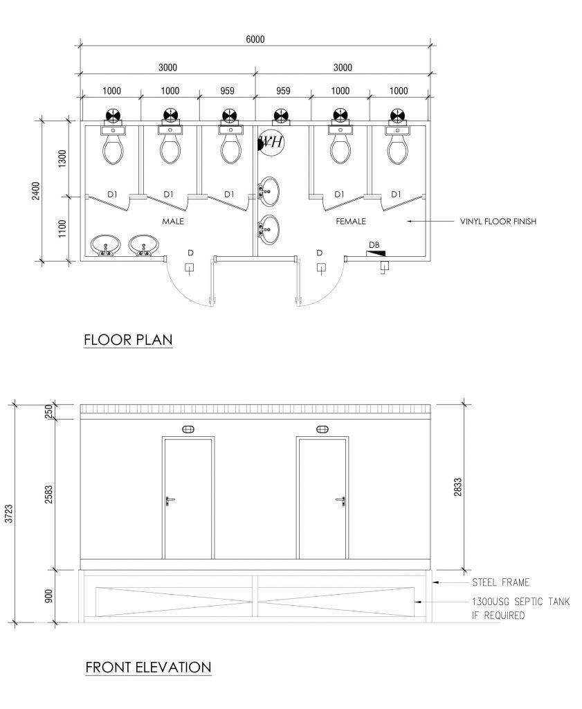 Portable Toilet Rental UAE