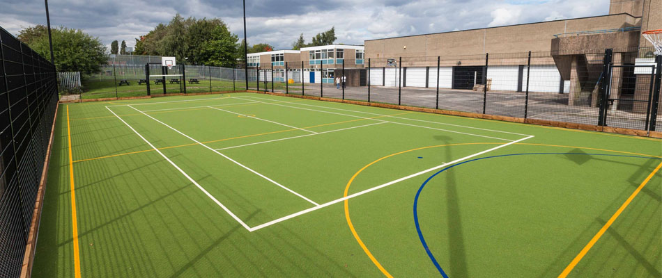 Multipurpose Sports Courts Dubai