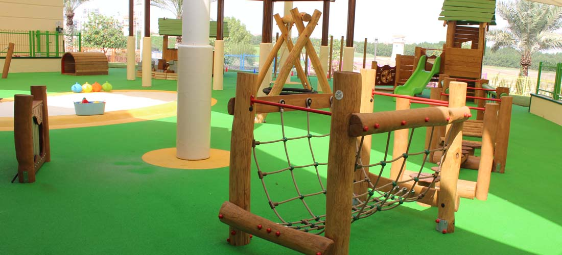 Natural Wood Play Equipment
