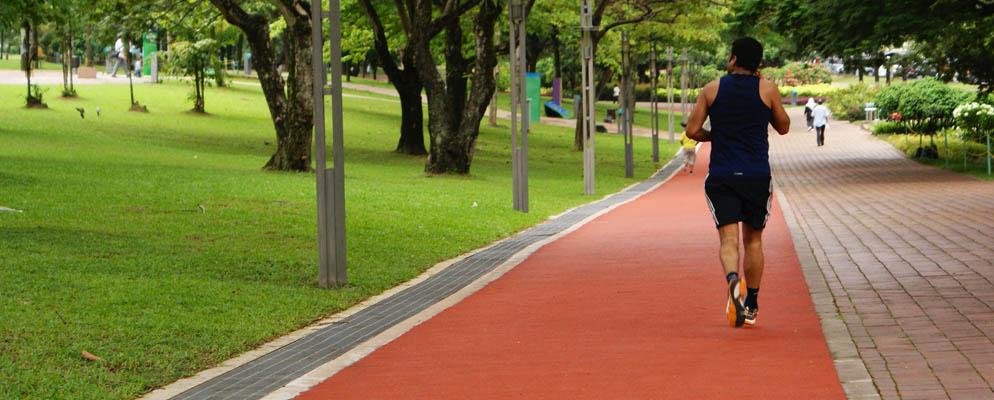 Jogging Track Flooring