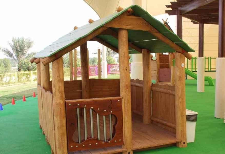 Naural Wood Play Equipment