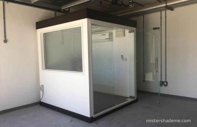Security Cabin Dubai