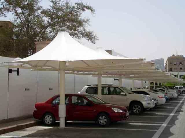Umbrella Car Parking Shades