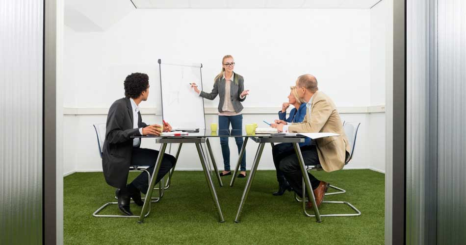 artificial grass for Offices