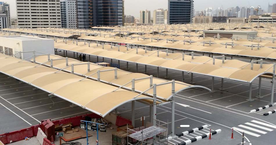 car parking shade supplier in Dubai UAE