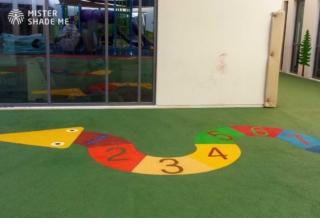 EPDM Flooring for School