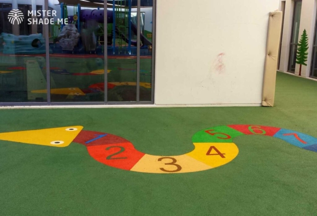 EPDM Flooring for School